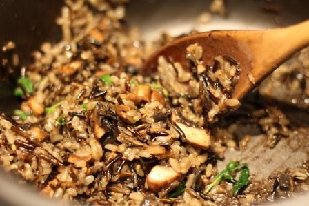 Cheat's Mushroom Risotto | Happy Healthy Strong